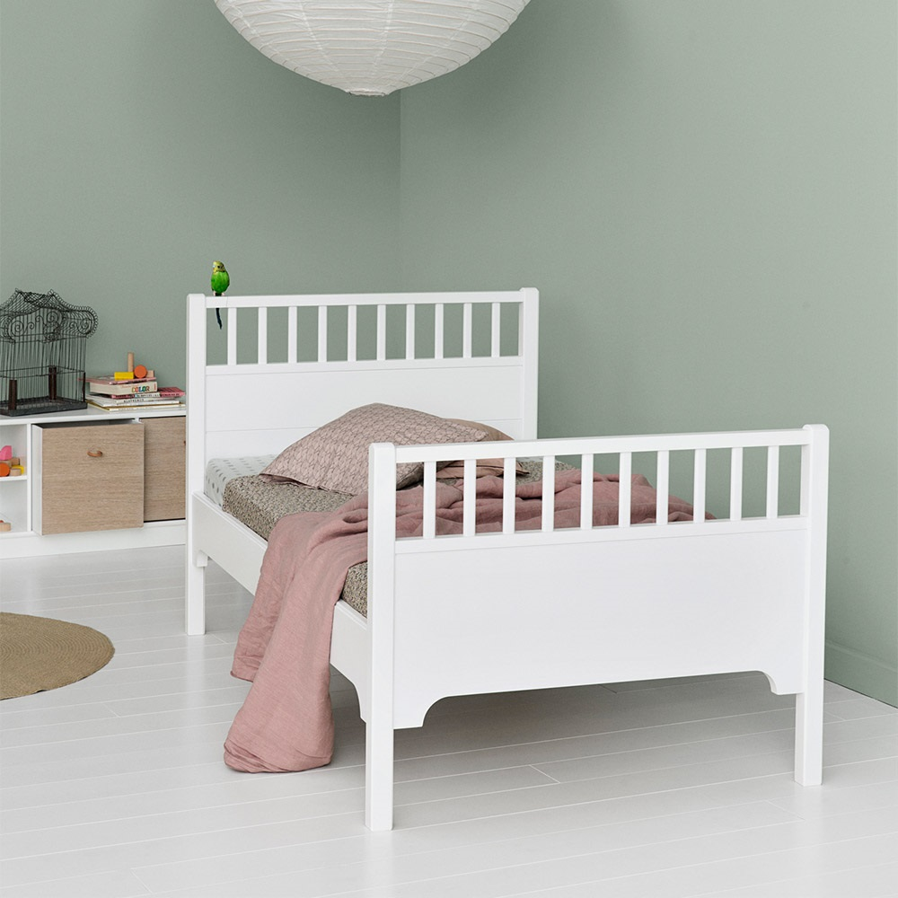 Childrens Luxury Junior Bed In White