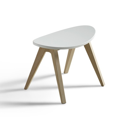 KIDS PINGPONG STOOL in White