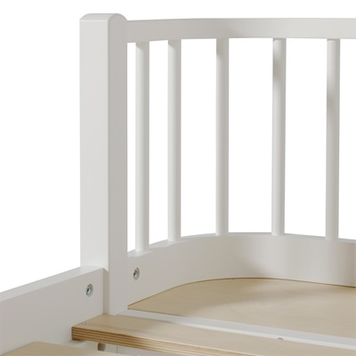 Contemporary Wood Kids Day Bed in White - Childrens Beds ...