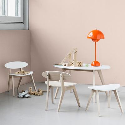KIDS PINGPONG TABLE in White & Oak