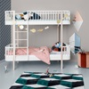 Luxury Kids Bunk Bed with Front Ladder