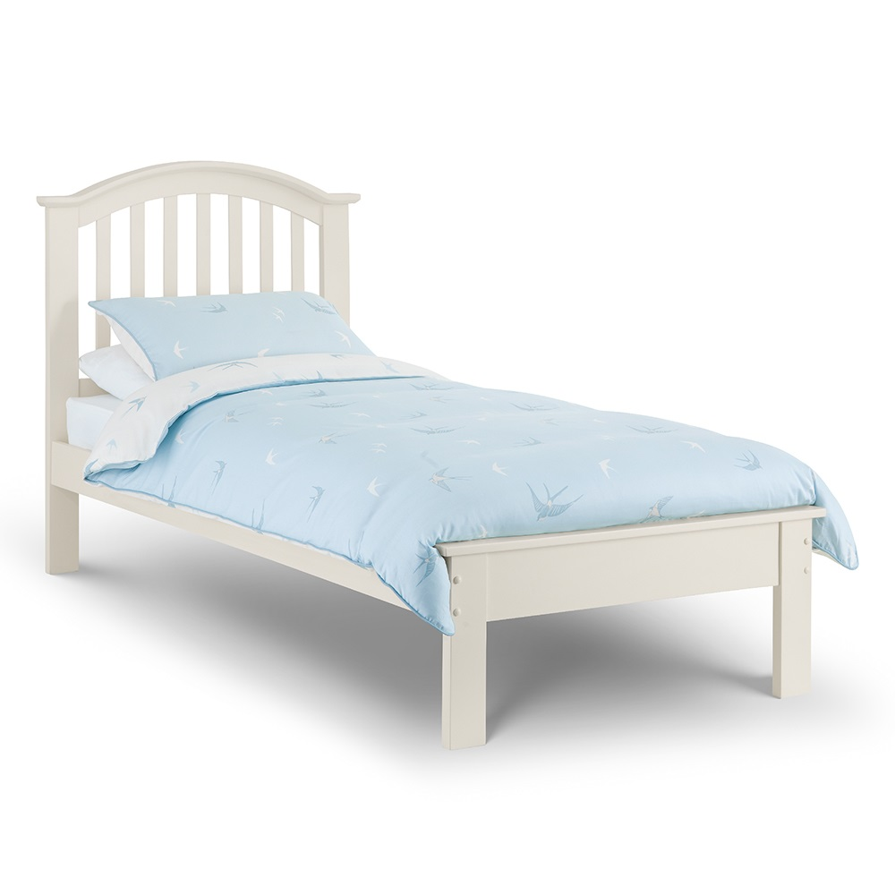 Olivia White Single Kids Bed