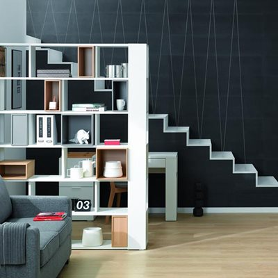 4YOU SHELVING UNIT in White