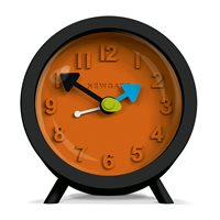 NEWGATE FRED Retro Alarm Clock in Black