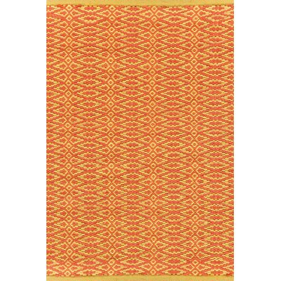 INDOOR FAIR ISLE RUG in Paprika