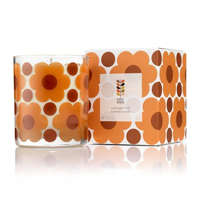 ORLA KIELY Scented Candle in Orange Rind