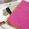 Leather Look Purse in Vibrant Pink