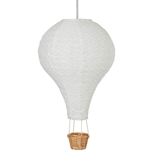 Cam Cam Copenhagen Hot Air Balloon Lamp in Grey Wave