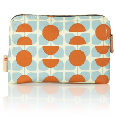 ORLA KIELY COSMETIC BAG in Square Flower
