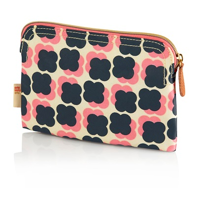 ORLA KIELY COSMETIC BAG in Floating Flower