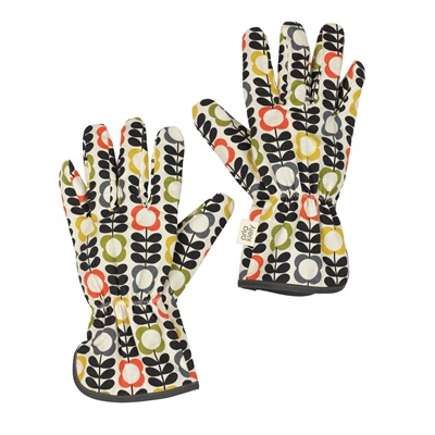 Orla Kiely Potting Gloves Garden Accessories Cuckooland
