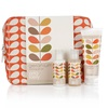 Orla Kiely Geranium Wash Bag Gift Set