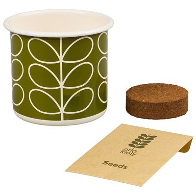 ORLA KIELY GROW YOUR OWN BASIL SET