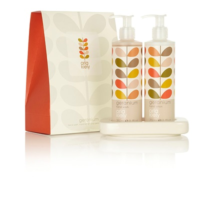 Orla Kiely Hand Wash Set in Geranium