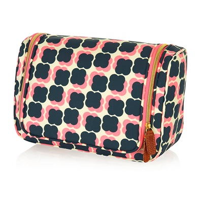 ORLA KIELY LARGE WASH BAG in Floating Flower Design