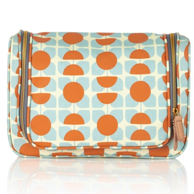 ORLA KIELY LARGE WASH BAG in Square Flower