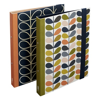 ORLA KIELY STEM SLIM RING BINDERS Set of 2