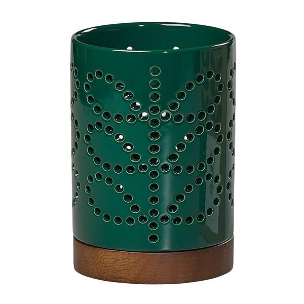 Orla Kiely Small Ceramic Lantern in Linear Stem