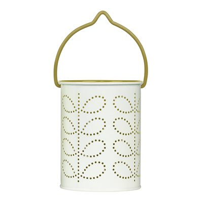 ORLA KIELY TEA LIGHT LANTERN in Green