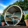 Premium Garden Building with Bench