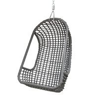 OUTDOOR HANGING EGG CHAIR in Grey