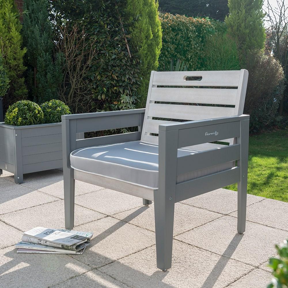 Grigio garden lounge chair norfolk leisure cuckooland
