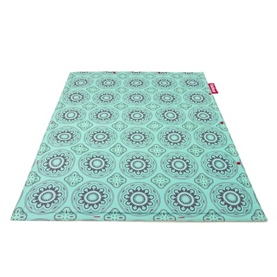 Casablanca Outdoor Flying Carpet Rug In Turquoise