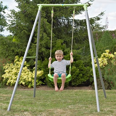 TP Toys Single Metal Garden Swing Set