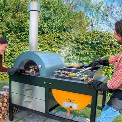 toto pizza oven u0026 grill with accessories pizza ovens cuckooland
