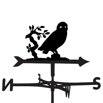 WEATHERVANE in Owl Design