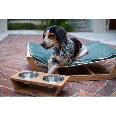 LARGE DOG HAMMOCK in Blue by Pet Lounge Studios