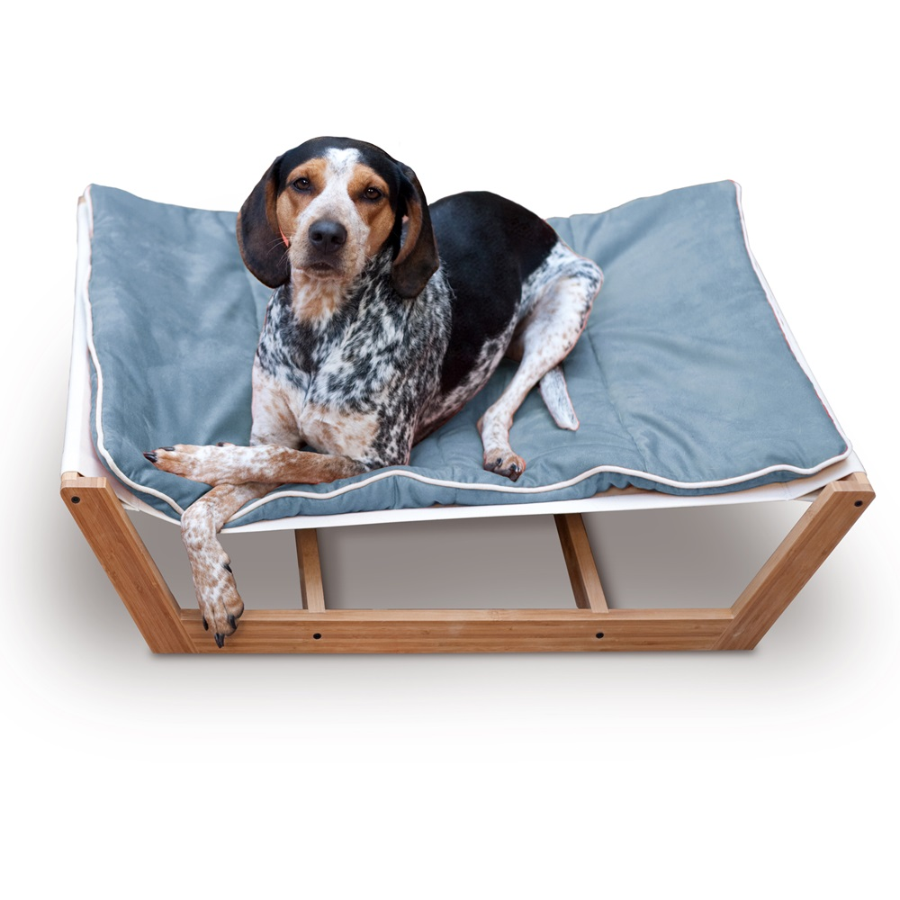 Large Dog Hammock In Blue By Pet Lounge Studios Pet