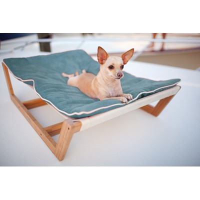 pet hammock large bamboo dog bedpet hammock with  large dog hammock in blue   pet accessories   cuckooland  rh   cuckooland