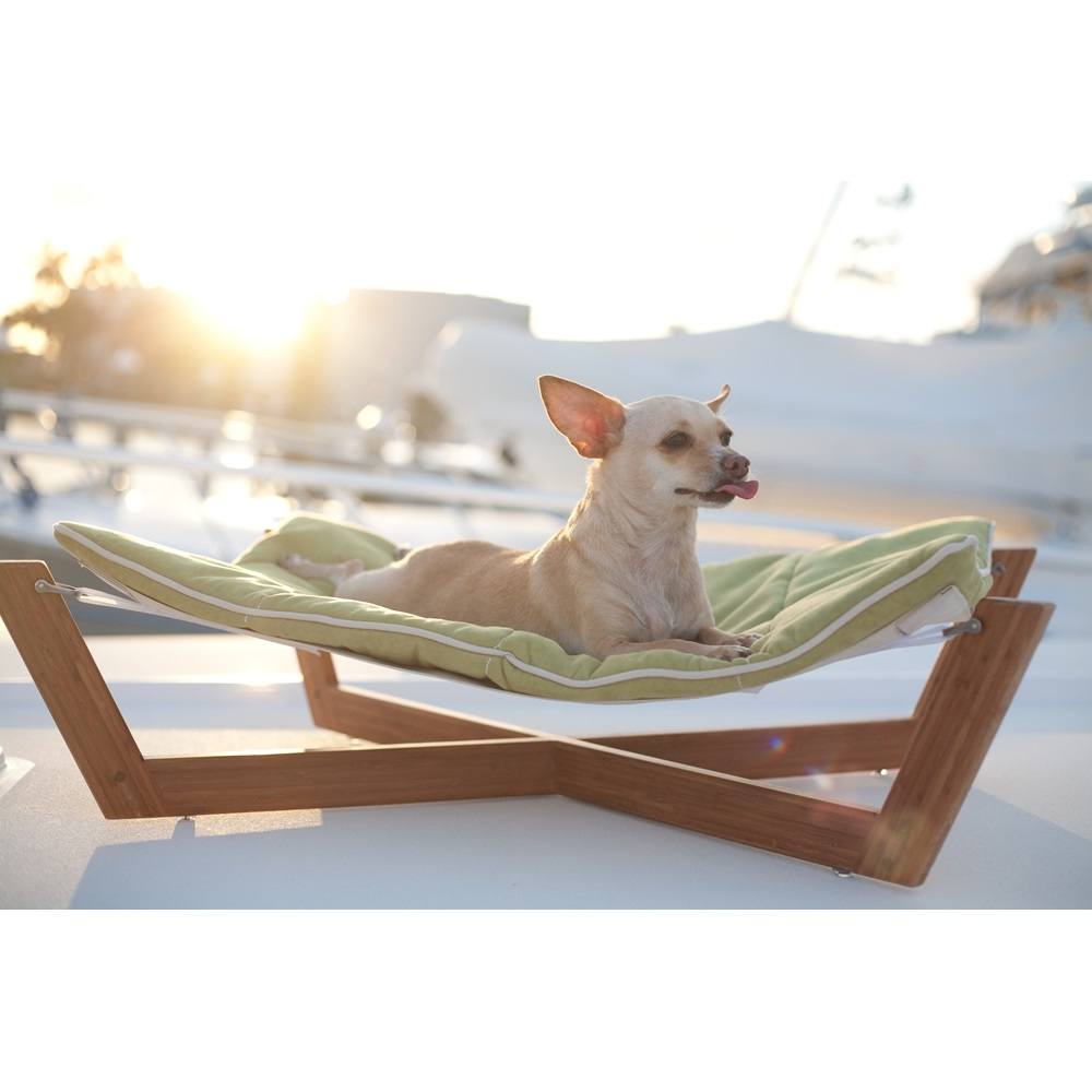 Small Pet Hammock In Blue By Lounge Studios - Outdoor Furniture For Small Dogs - Outdoor Ideas