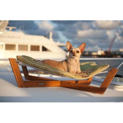 pet hammock small bamboo dog and cat pet  dog hammock in blue   pet beds   cuckooland  rh   cuckooland