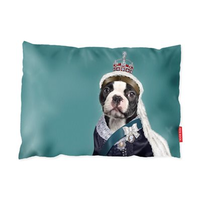 PETS ROCK DOG BED Floor Cushion Queen Victoria by Takkoda