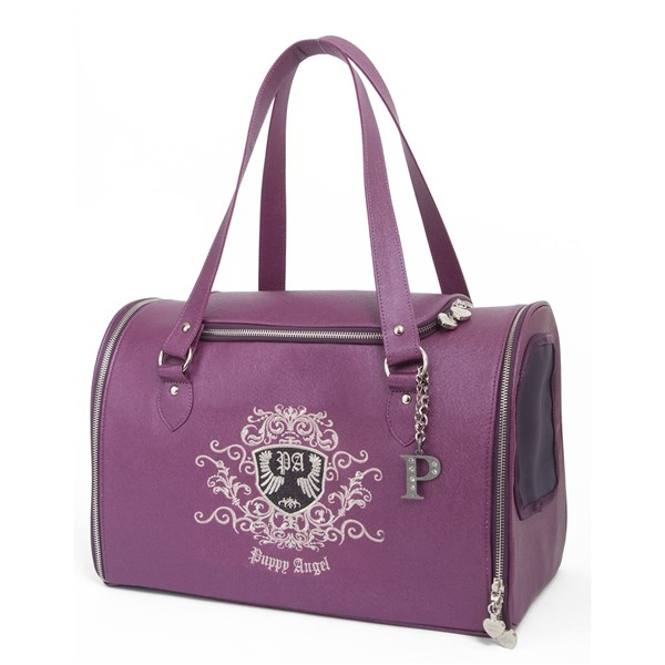 PUPPY ANGEL Posh Paws Pet Carrier Purple