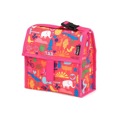 PACKIT KIDS FREEZABLE MINI COOL BAG in Animal Design