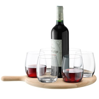 LSA PADDLE WINE & WATER Serving Set
