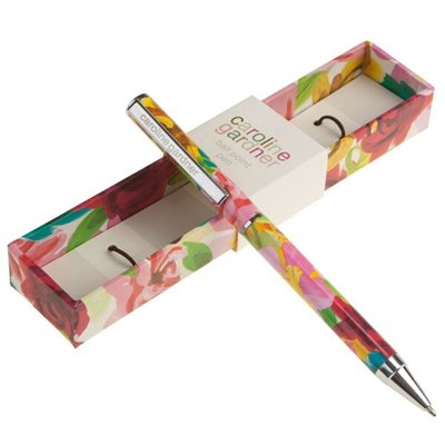 CAROLINE GARDNER BALL POINT PEN in Painted Floral