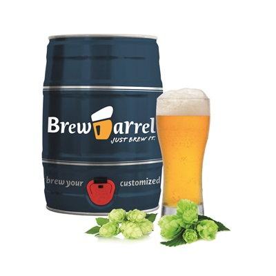 INDIA PALE ALE BEER BREWING KIT in Barrel