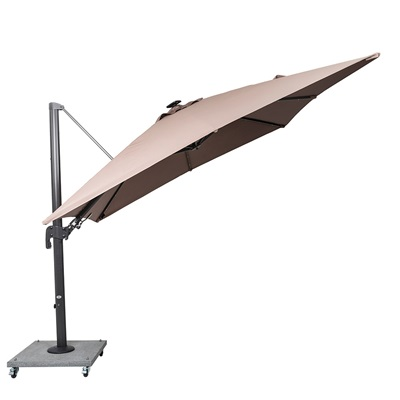 Palermo Cantilever Parasol In Taupe Norfolk Leisure Cuckooland