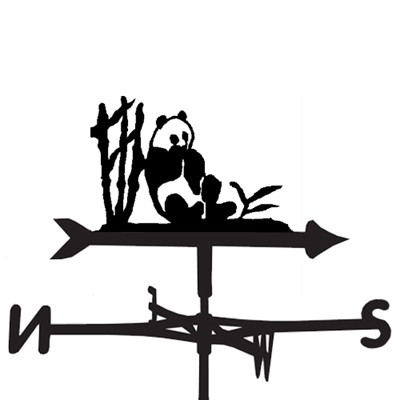 WEATHERVANE in Panda Design