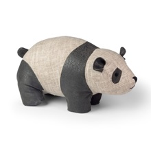 Panda-Doorstop-By-Dora-Design-In-Grey-Linen-with-black-faux-leather.jpg