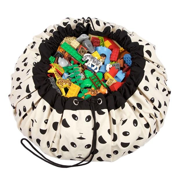 Play & Go Toy Storage Bag in Panda Design