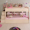 Kids Premium Bed with Extra Storage Trundle