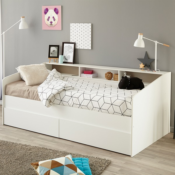 parisot sleep day bed with storage kids avenue cuckooland 15086 | parisot sleep daybed with storage quality 95 scale canvas width 600 height 600