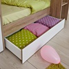 Drawer Space on Kids Stylish Modern Bed