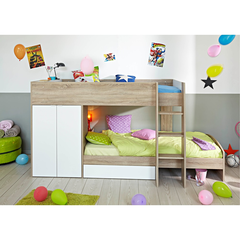 Parisot stim kids bunk bed kids avenue cuckooland for Sofa jugendzimmer ikea
