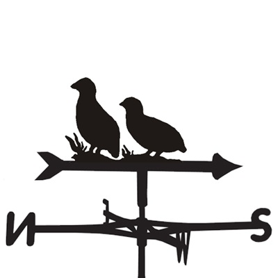 WEATHERVANE in Partridge Bird Design